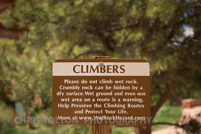 CLIMMBER'S SIGN