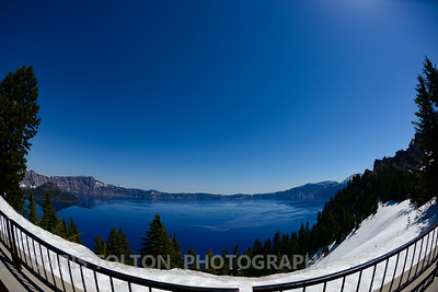 Lake View from Crater Lake Lodge