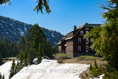 Crater Lake Lodge - Lake Side