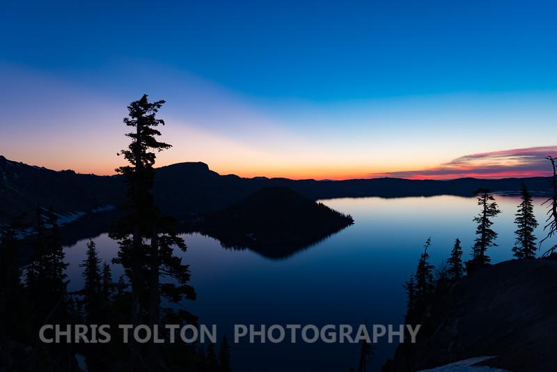 Crater Lake Dawn