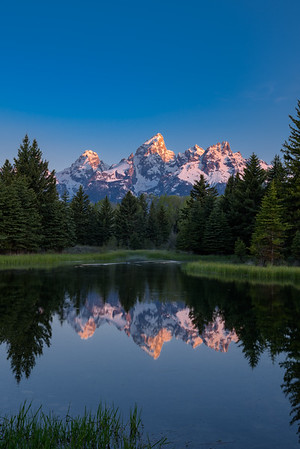 Grand Teton Sunrise - Schwabacher's Landing