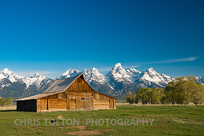 TA MOULTON BARN - GRAND TETONS
