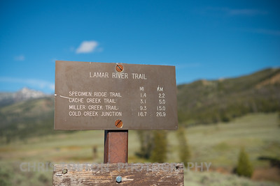 LAMAR RIVER TRAIL SIGN