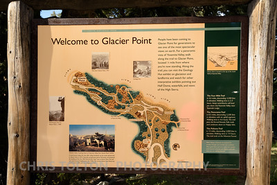 GLACIER POINT TRAIL SIGN