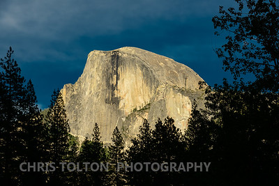 Half Dome in Late Afternoon