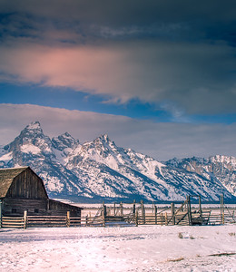 Tetons in Background