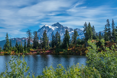 Mount Shuksan's reflection