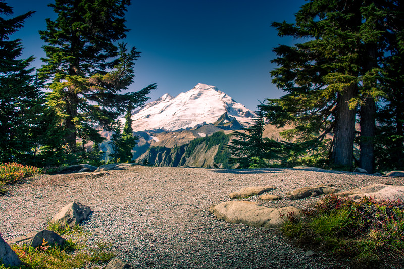 Mount Baker, also known as Koma Kulshan or simply Kulshan, is an active glaciated andesitic stratovolcano in the Cascade Volcanic Arc and the North Cascades of Washington in the United States