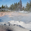 Geyser in Yellowstone