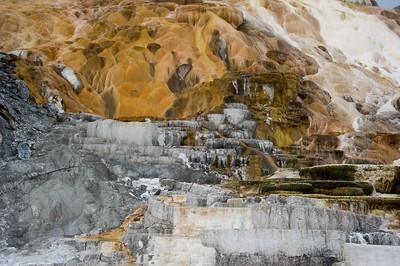 Terrace at Mammoth falls