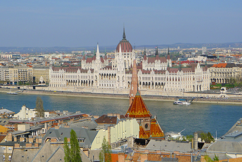 Parliament from the Castle