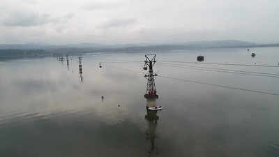 Lake Modrac - cable car rescue