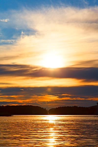 Закатная грёза на Ладоге / Sunset Dream on Ladoga Lake