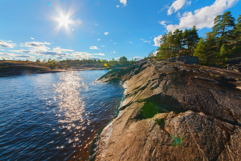 Ladoga Lake. Starry Way / Ладога. Звездный путь