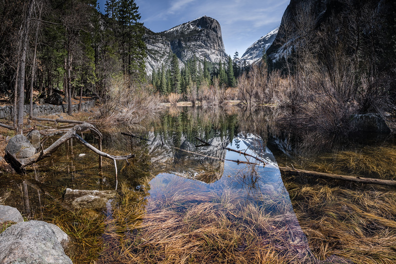 Mirror Lake. Yosemite National Park