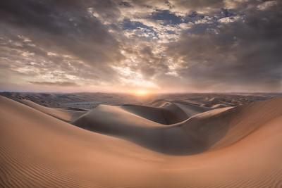 Sunset - Empty Quarter