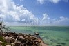 Florida Keys landscape view with beach