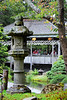 """A photograph of the tea house from behind one of the authentic stone lantern from Japan.  Click here for a separate gallery of  <a href=""""http://andresalvador.smugmug.com/gallery/2038533""""><b>JAPANESE TEA GARDEN<b></a>"""
