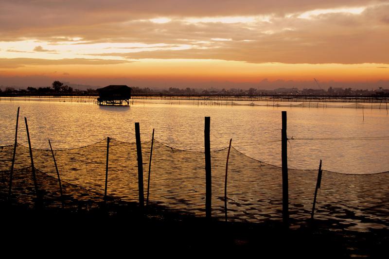 THE FISHPONDS, DAMPALIT, MALABON, PHILIPPINES
