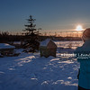 Sunset at Yellowknife City Center