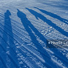 Ice Track over Great Slave Lake, Northwest Territories, Canada