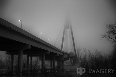Natcher Bridge - Foggy Night