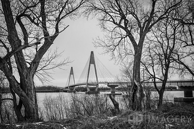 Natcher Bridge in Winter