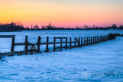 Rural KY Snow Scene 2