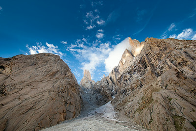 Nameless Towar and Great Trango Tower/Pakistan