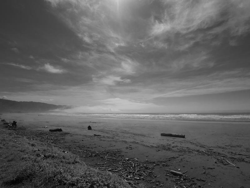 Beach-Sky -- Crescent City, California (March 2011)