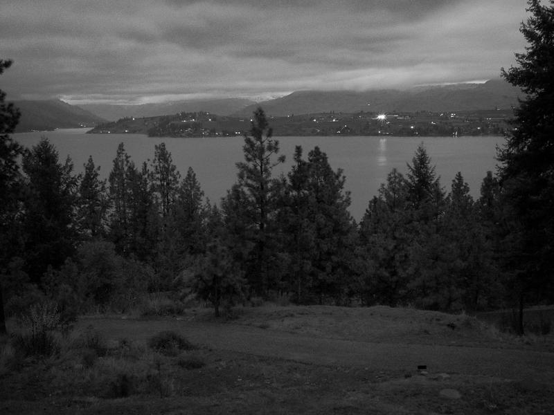Early Morning from Deck -- Chelan, Washington (November 2010)
