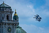NAVY Blue Angels performing at the United States Naval Academy (Annapolis, Maryland) during Commissioning Week, May 23, 2018