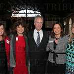 Event co-chair Carol Coldiron, President of NAWBO Board of Directors Denise Jerome, Mayor Greg Fischer, Executive Director NAWBO Louisville Stephanie Geddes and event co-chair Ashley Wimsett .
