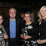 Deb Copeland, emcee Tim Laird, finalist Susan Hershberg and EPIC Judge Lesa Seibert.
