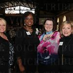 Karen Milliner, finalist Pamela Fulton Broadus, Celia Triplett and Lori Laird