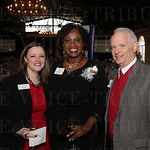 Quinn Hart, finalist Pamela Fulton Broadus and Cliff Elgin.