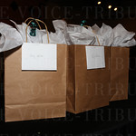 The event finalist received gift bags.