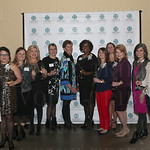 Group photo of the NAWBO Epic Award finalists: Leigh Pittman, Dr. Stacie Grossfeld, Summer Auerbach, Raquel Koff, Susan Hershberg, Tricia Burke, Pamela Fulton Broadus, Kayla Mount, Jesika Young, Amy Letke, Steph Horne and Mo McKnight Howe.