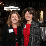 NAWBO Louisville Board of Directors Treasurer Margaret Jolly and President of NAWBO Board of Directors Denise Jerome.