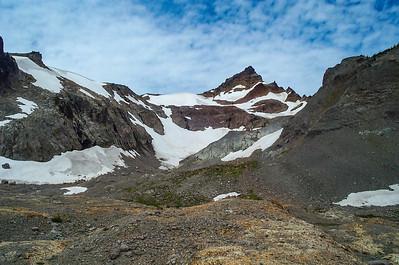 Gilbert Peak and Conrad glacier