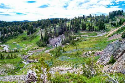 Conrad Creek, Headwaters of Tieton River drainage