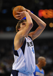 March 29th, 2010   Dallas Mavericks forward Dirk Nowitzki #41 shoots free throws in a game between the Denver Nuggets and the Dallas Mavericks at the American Airlines Center in Dallas, Texas. Dallas wins 109-93