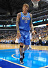 "March 29th, 2010  <br /> Denver Nuggets center Chris ""The Birdman"" Andersen #11 in action<br /> in a game between the Denver Nuggets and the Dallas Mavericks at the American Airlines Center in Dallas, Texas.<br /> Dallas wins 109-93"