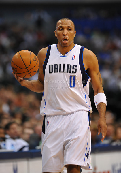 March 29th, 2010  <br /> Dallas Mavericks forward Shawn Marion #0 brings the ball forward<br /> in a game between the Denver Nuggets and the Dallas Mavericks at the American Airlines Center in Dallas, Texas.<br /> Dallas wins 109-93