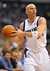 March 29th, 2010  <br /> Dallas Mavericks guard Jason Kidd #2 sets up the offense<br /> in a game between the Denver Nuggets and the Dallas Mavericks at the American Airlines Center in Dallas, Texas.<br /> Dallas wins 109-93
