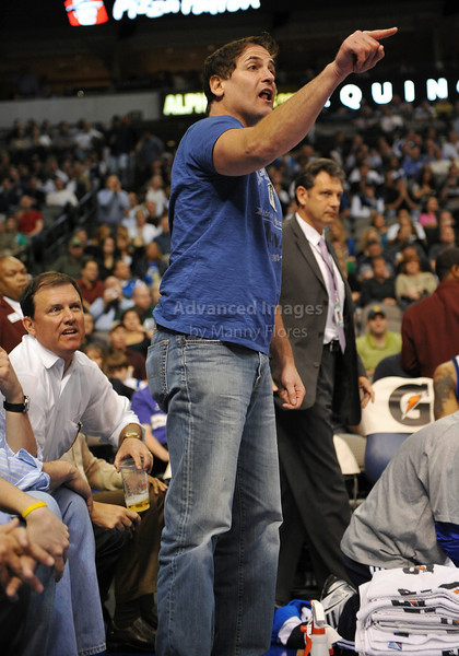 March 23rd, 2010  <br /> Dallas Mavericks Owner Mark Cuban upset a referee for ejecting Dirk early in the 3rd period in a game between the Los Angeles Clippers and the Dallas Mavericks at the American Airlines Center in Dallas, Texas.<br /> Dallas wins 106-96