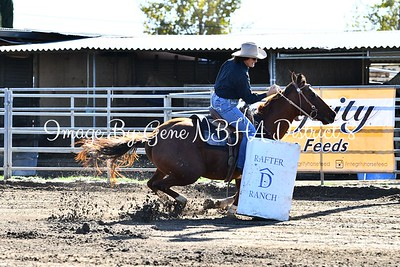 Barrel Race At Rafter D Ranch 11/5/17 Open Draw 1-30