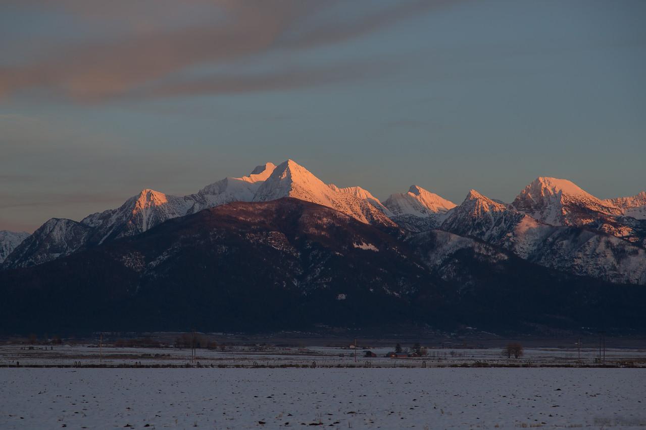 Sunset Jan 25