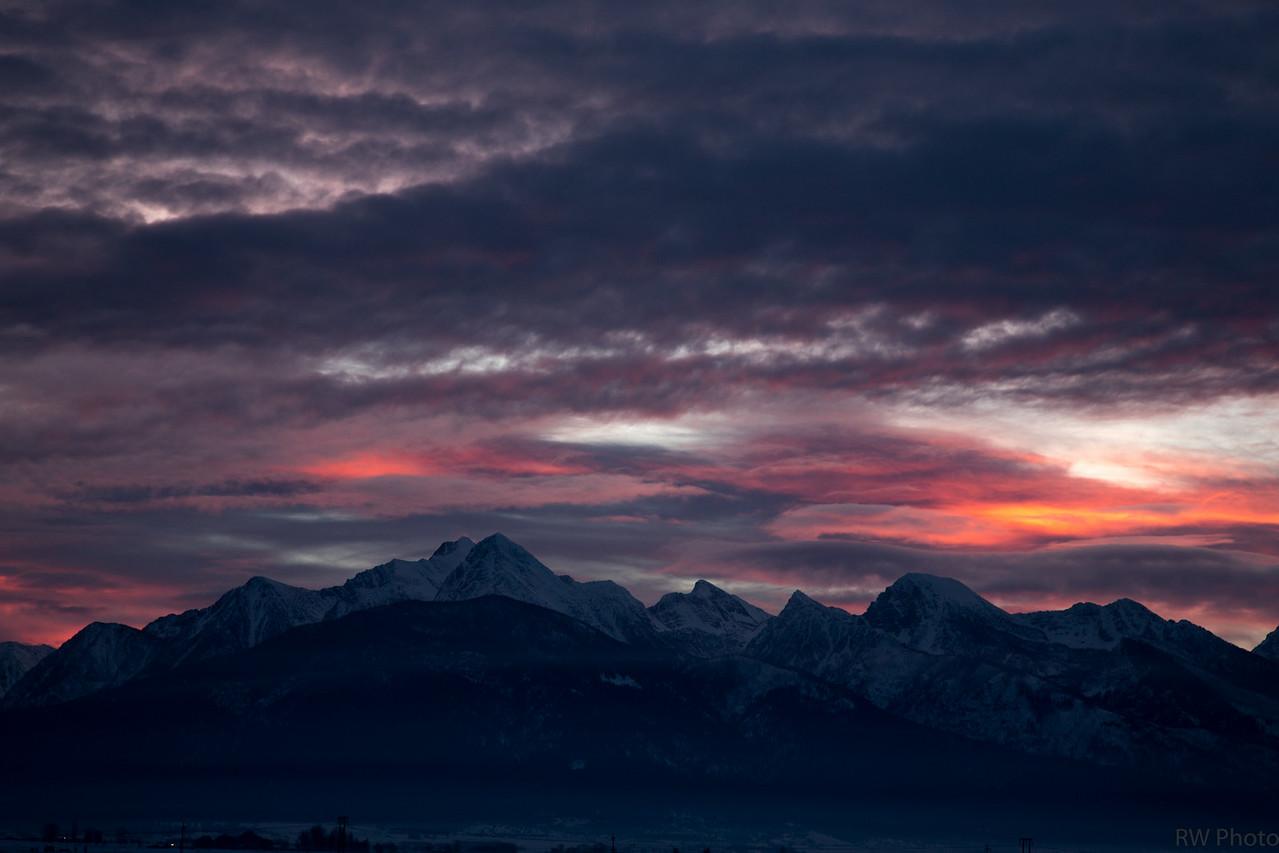 Sunrise Jan 22