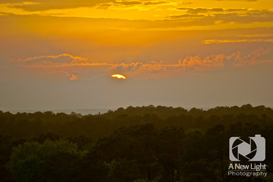 Sunset from the Wright Brothers Memorial - North Carolina Collection